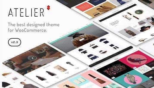 Atelier - Creative Multi-Purpose eCommerce Theme