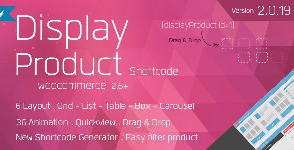 Display Product - Multi-Layout For WooCommerce
