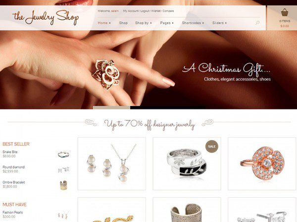 YITH The Jewelry Shop Premium WooCommerce Themes