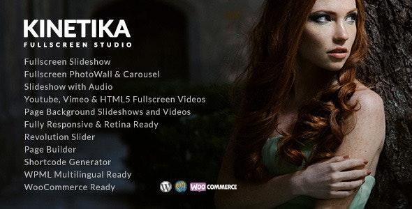 Kinetika - Photography Theme for WordPress